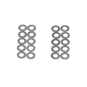 Shim set, rondelles de calage 'ULTIMATE' 0,1 et 0,2 mm